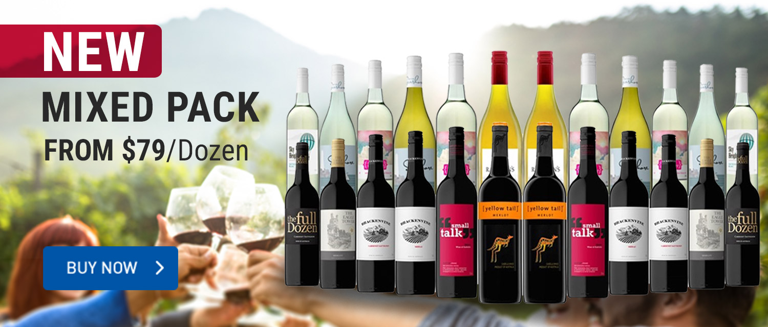 New Mixed Pack Wine