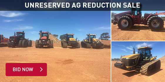 Unreserved AG Reduction Sale