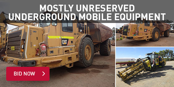 Mostly Unresered Underground Mobile Equipment