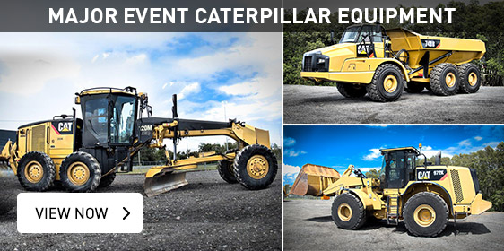 Major Event Catepillar Equipment