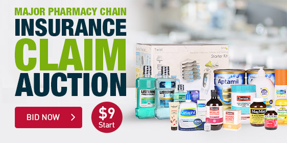 Major Pharmacy Chain Insurance Claim Auction