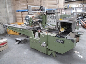 Fuji Machinery flow pack, Model Wrap Ace FW341, 3 phase power,