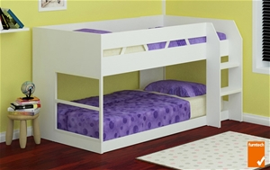 Buy Z1 Low Line Single Bunk Bed White Graysonline Australia