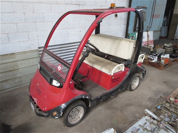 Air Conditioning Sweepers Electric Carts