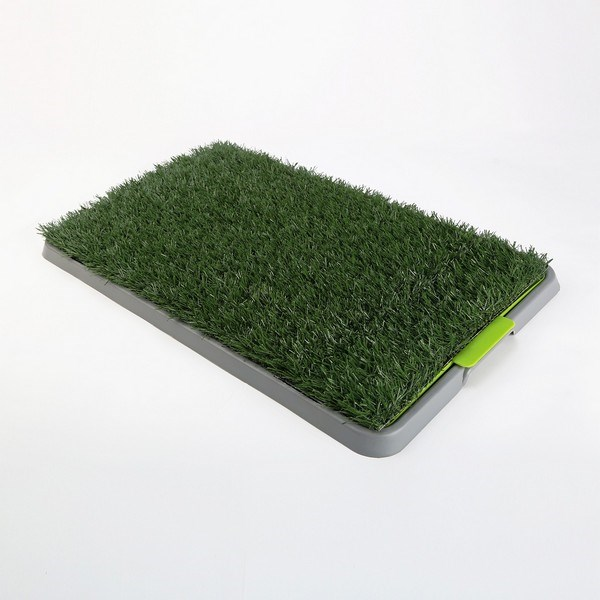 Pet Potty Training Pad Tray - 1 Grass Mat
