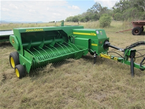 John Deere Model 348 small square hay baler