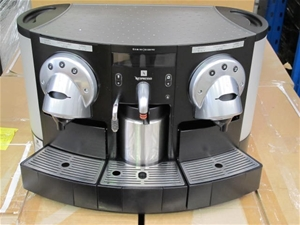 nespresso gemini cs220 pro coffee machine auction 0001. Black Bedroom Furniture Sets. Home Design Ideas