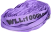 2 x Round Lifting Sling, WLL 1,000kg x 4M (With Test Cert). Buyers Note - D
