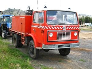 Truck Fire Tender 1977 International Acco 510a 4x4