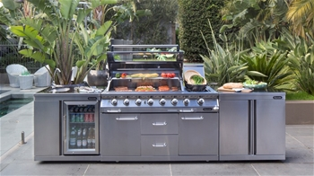 Gasmate outdoor bbq kitchens sa pick up for Outdoor kitchen bbq for sale