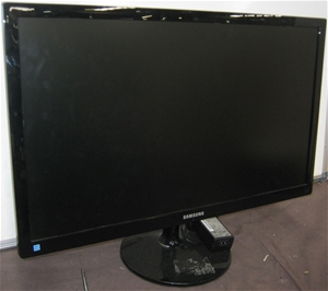 Samsung 27` Lcd Widescreen Monitor, Model S27C350 With Ac Power Adapter (22