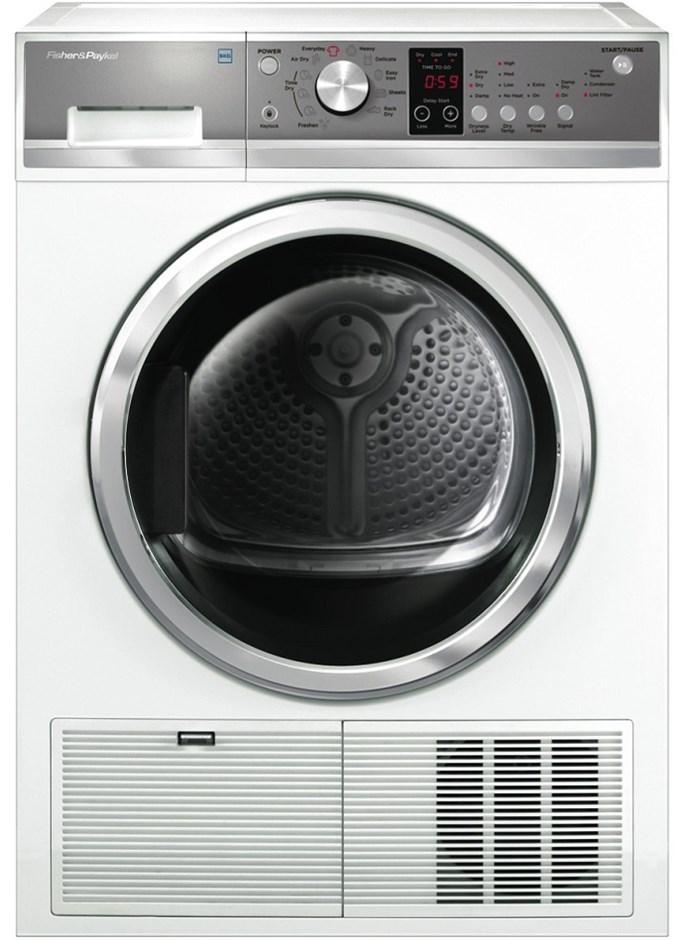 Fisher & Paykel 8kg Condensing Dryer (White) (DE8060P2)