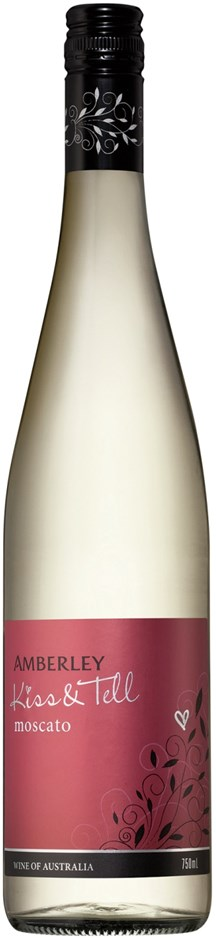 Amberley `Kiss & Tell` Moscato 2018 (6 x 750mL), WA.