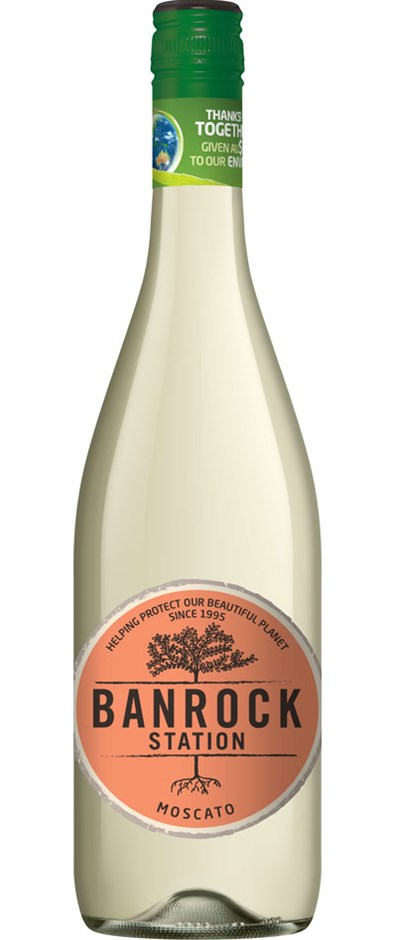 Banrock Station Moscato NV (6 x 750mL), SA.
