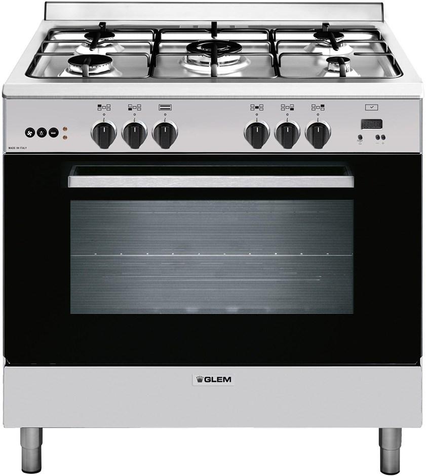 Glem 90cm Freestanding All Gas Cooker Gl965mvi