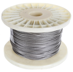 100M x Stainless Steel Wire Rope, 2mm Di