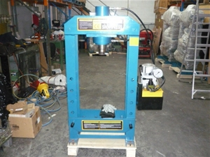 RHR 50 ton electric shop press