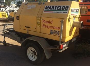 Diesel Powered Pump, Selwood, D100 - Selprime (Para Hills West, SA)