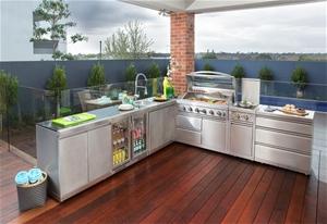 The Gasmate Platinum Ii Premium Outdoor Kitchen Auction Graysonline Australia