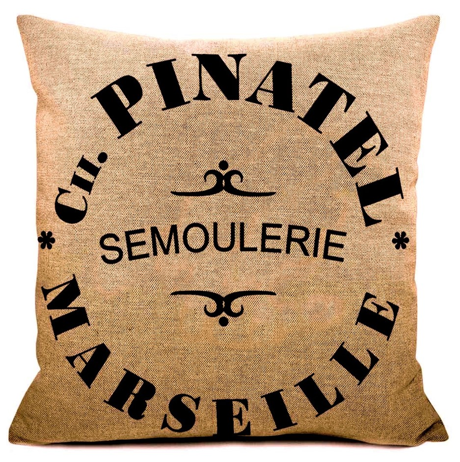 JUTE CUSHION - Pinatel