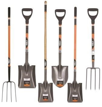 Professional garden tools shovels demolition kits etc for Gardening tools toronto