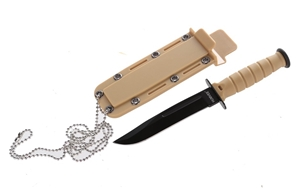 HUMVEE Mini USMC Survival Knife, 15cm wi