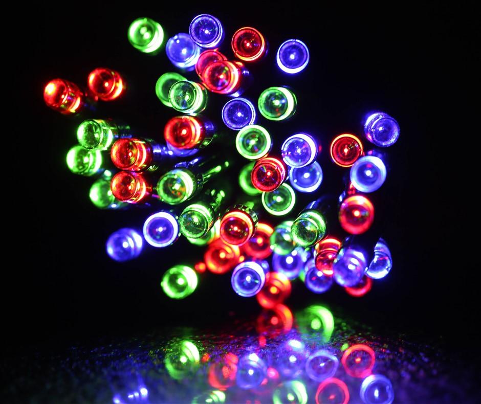 50 led solar fairy light