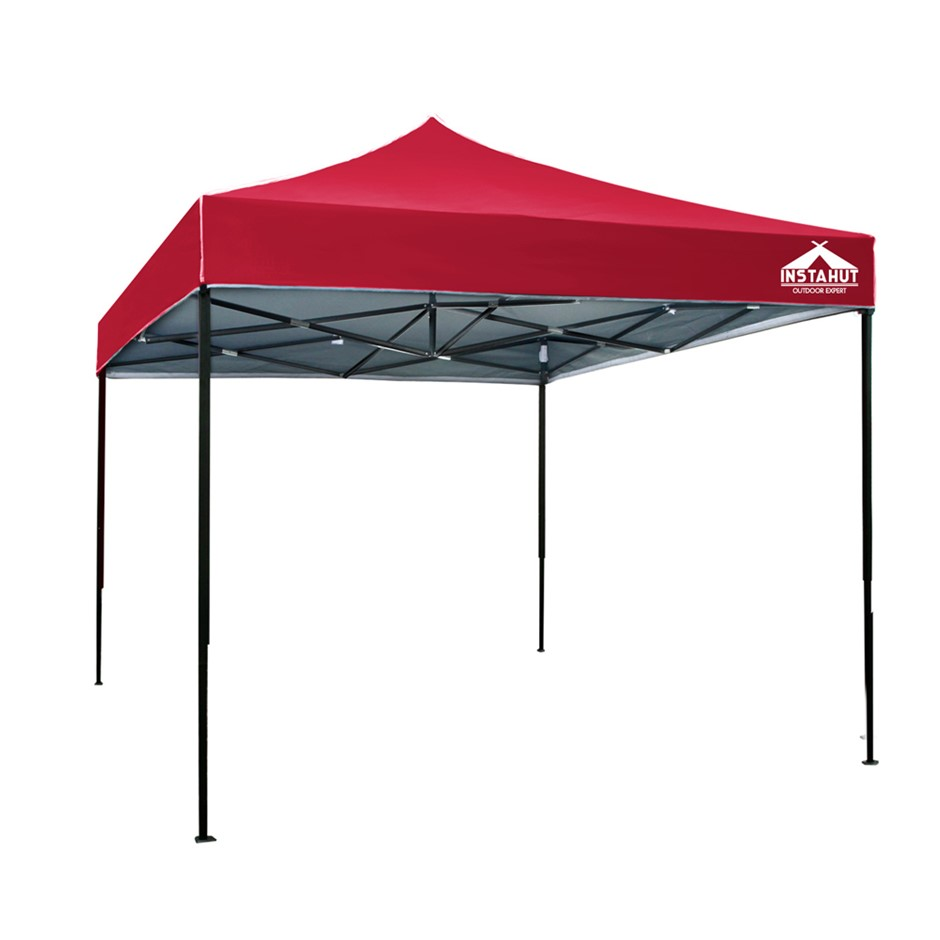 Instahut 3x3m Outdoor Gazebo - Red