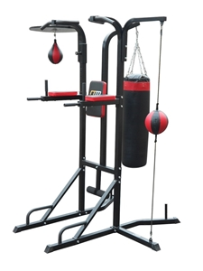 Power Boxing Station Stand Gym Speed Bal