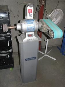 Pedestal Grinder Linishall Model Bg8 8 200mm