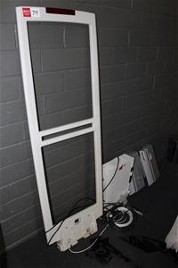 Antitheft system, Sensormatic, retail exit door pedestal, Includes: 1 x ver
