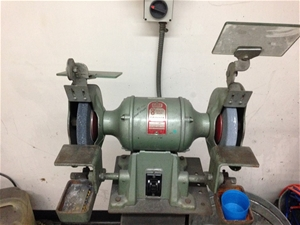 Bench Grinder Gmf 8 Inch Auction 0216 5019600
