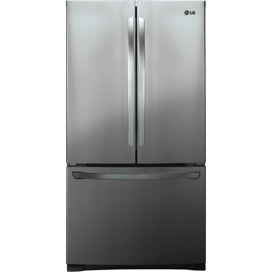 Lg 620l Stainless Finish French Door Refrigerator Gf