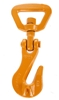 4 x BEAVER 10mm Swivel Grab Hooks, Capacity 6000kg, Grade 70. N.B. Not to B