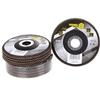 10 x VOREL Flap Discs 125mm, Grit P60. Buyers Note - Discount Freight Rates