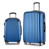 Wanderlite 2 Piece Lightweight Hard Suit Case - Blue
