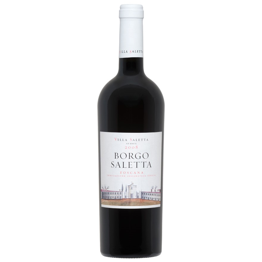 Borgo Saletta Vino Rosso Toscano IGT Vertical Pack (6 x 750mL) 5