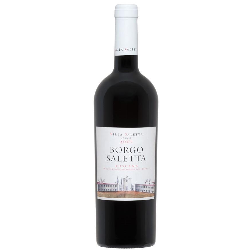 Borgo Saletta Vino Rosso Toscano IGT Vertical Pack (6 x 750mL) 4