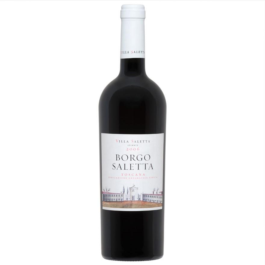 Borgo Saletta Vino Rosso Toscano IGT Vertical Pack (6 x 750mL) 3