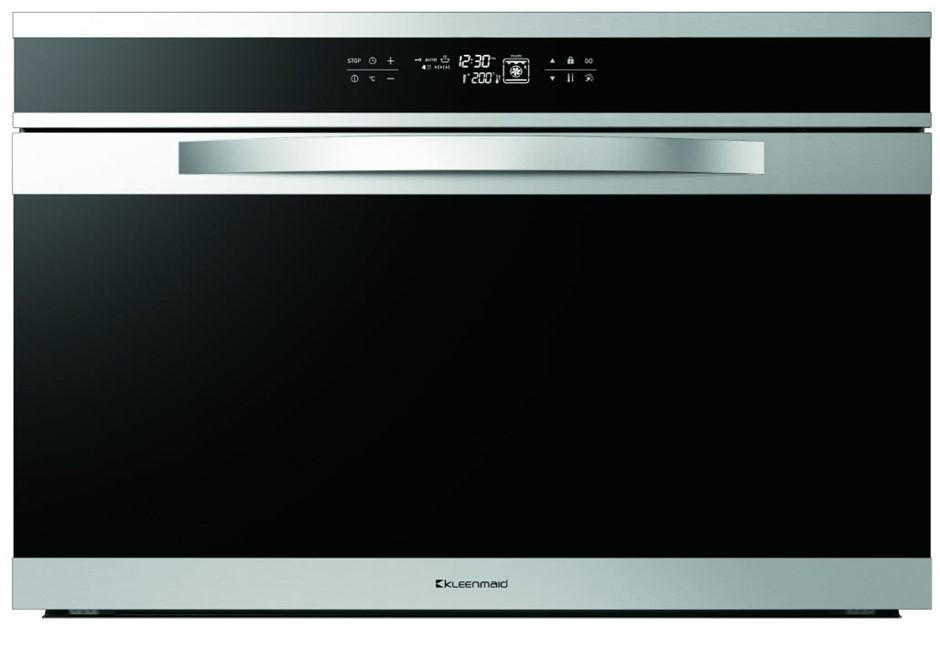 Kleenmaid 90cm Black Krystal Oven (OMF9022)