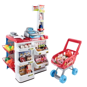 Keezi 24 Piece Kids Super Market Toy Set