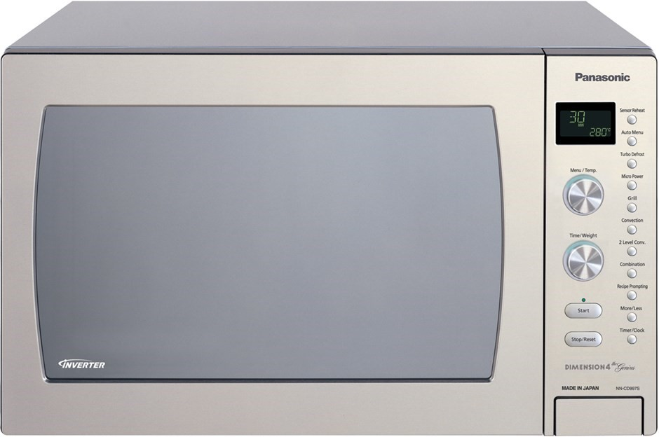 Panasonic 42l Stainless Steel Microwave Oven Nn Cd997s