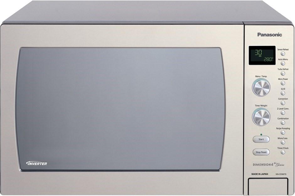 Panasonic 42L Stainless Steel Microwave Oven (NN-CD997S)