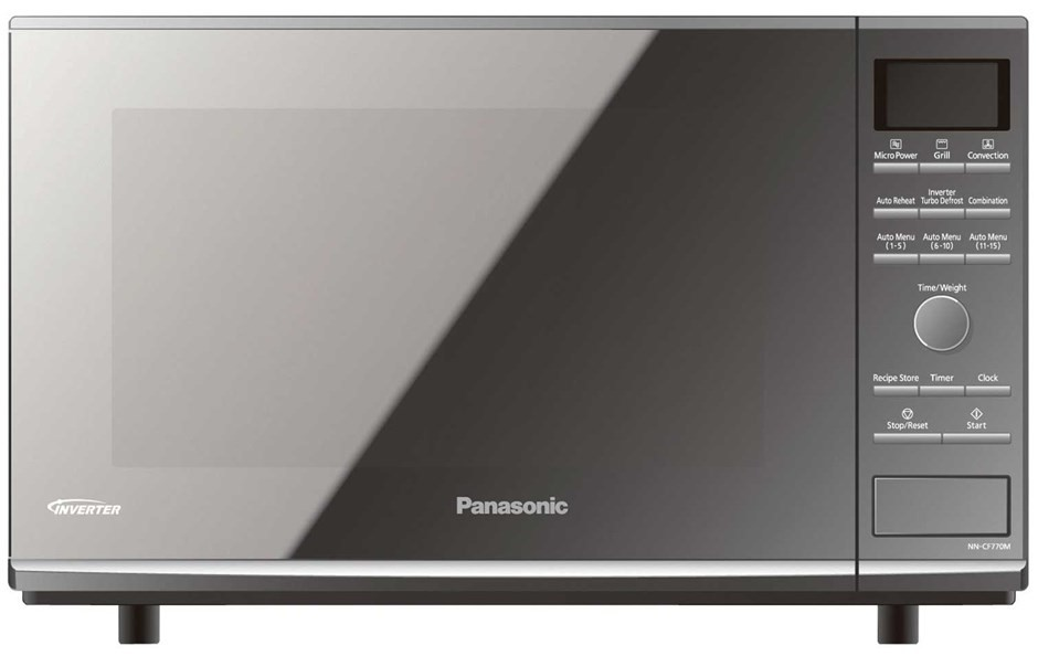 Panasonic Nn Cf770m 27l Convection Flatbed Microwave Oven
