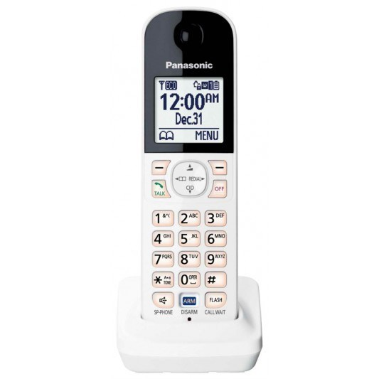Panasonic Optional Digital Cordless Handset KX-HNH100AZW (White)