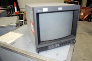 video monitor sony 14 inch crt trinit