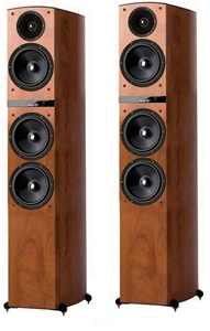 Jamo C809 Floorstanding Speakers - Pair (Dark Apple)