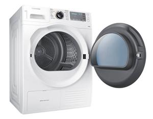 Samsung 9kg Heat Pump Clothes Dryer Model Dv90h8000hw