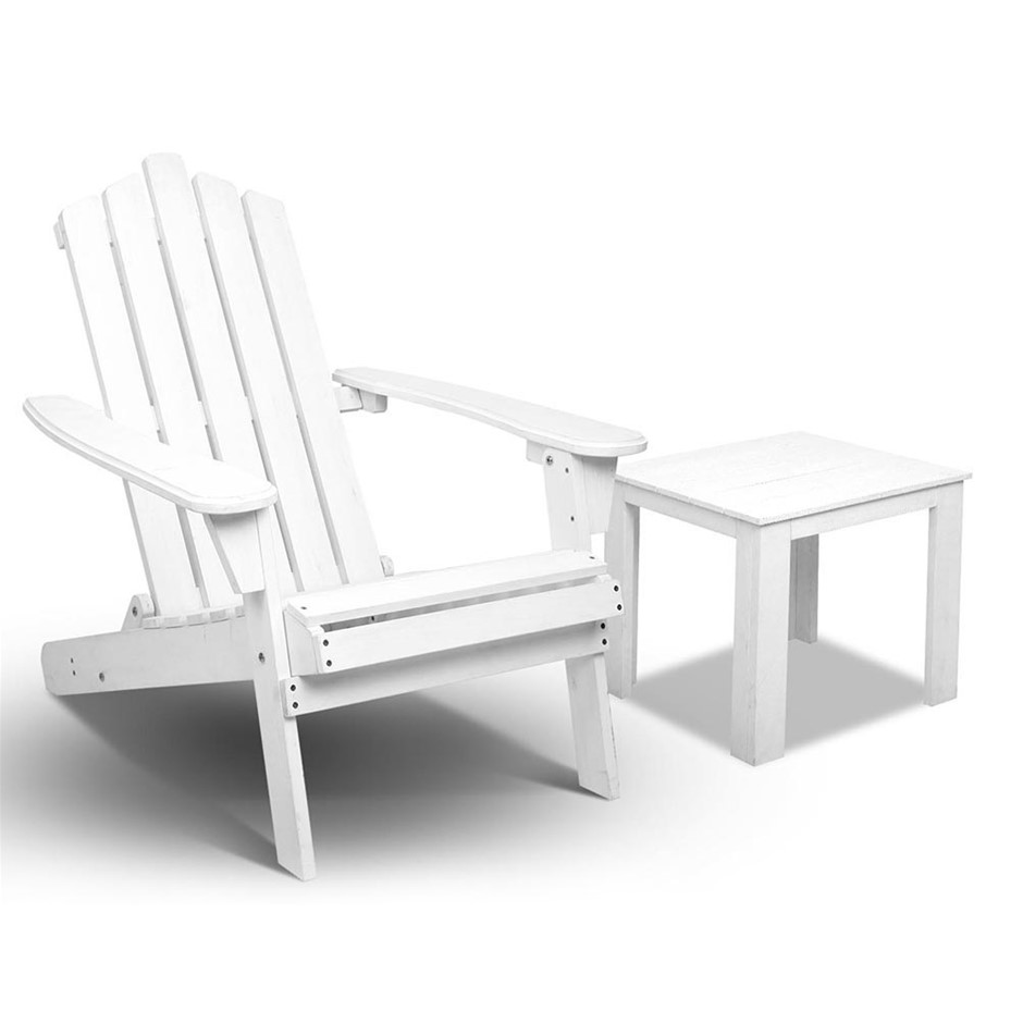 Gardeon 2 Piece Outdoor Chair and Table Set