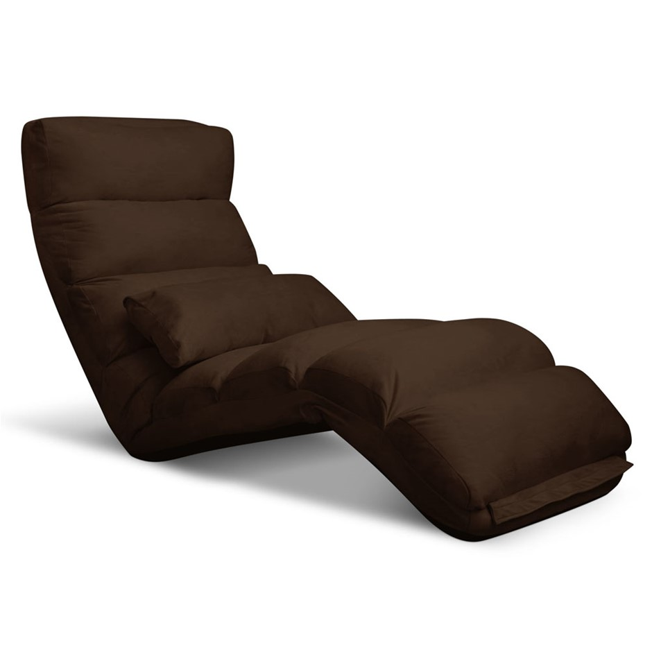 Artiss Adjule Lounge Sofa Chair Brown